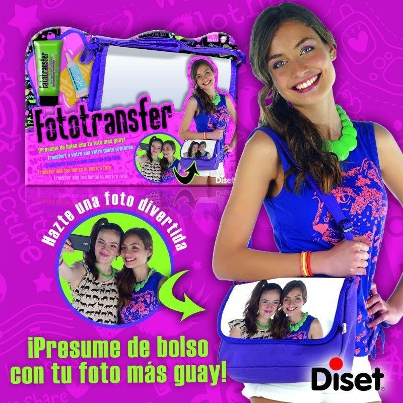 Juguete FOTOTRANSFER DAILY BAG de Diset Precio 8,13€ en IguMagazine #juguetesbaratos