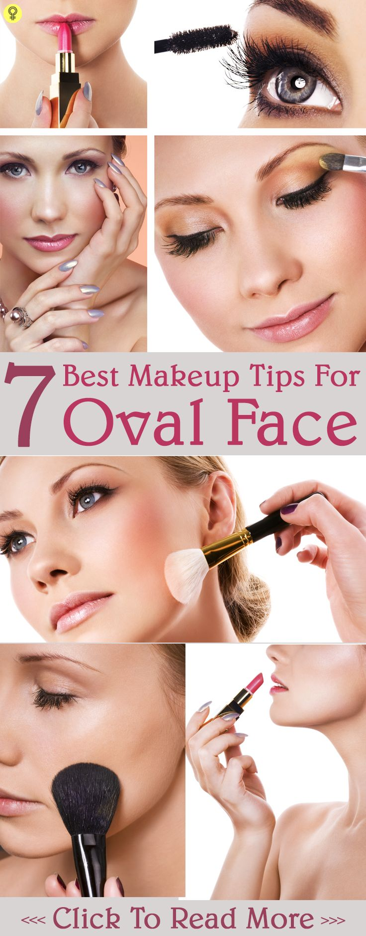 10 Best Makeup Tips For Oval Face  Oval face makeup, Best makeup