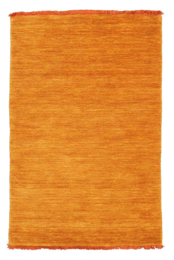 Tappeto Handloom fringes arancione CVD5341 Tappeti