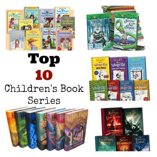 Top 10 Children S Book Series The Perfect Christmas Gifts Kids