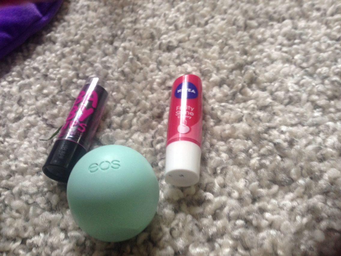 Baby lips electro Nivea fruity shine cherry Mint eos
