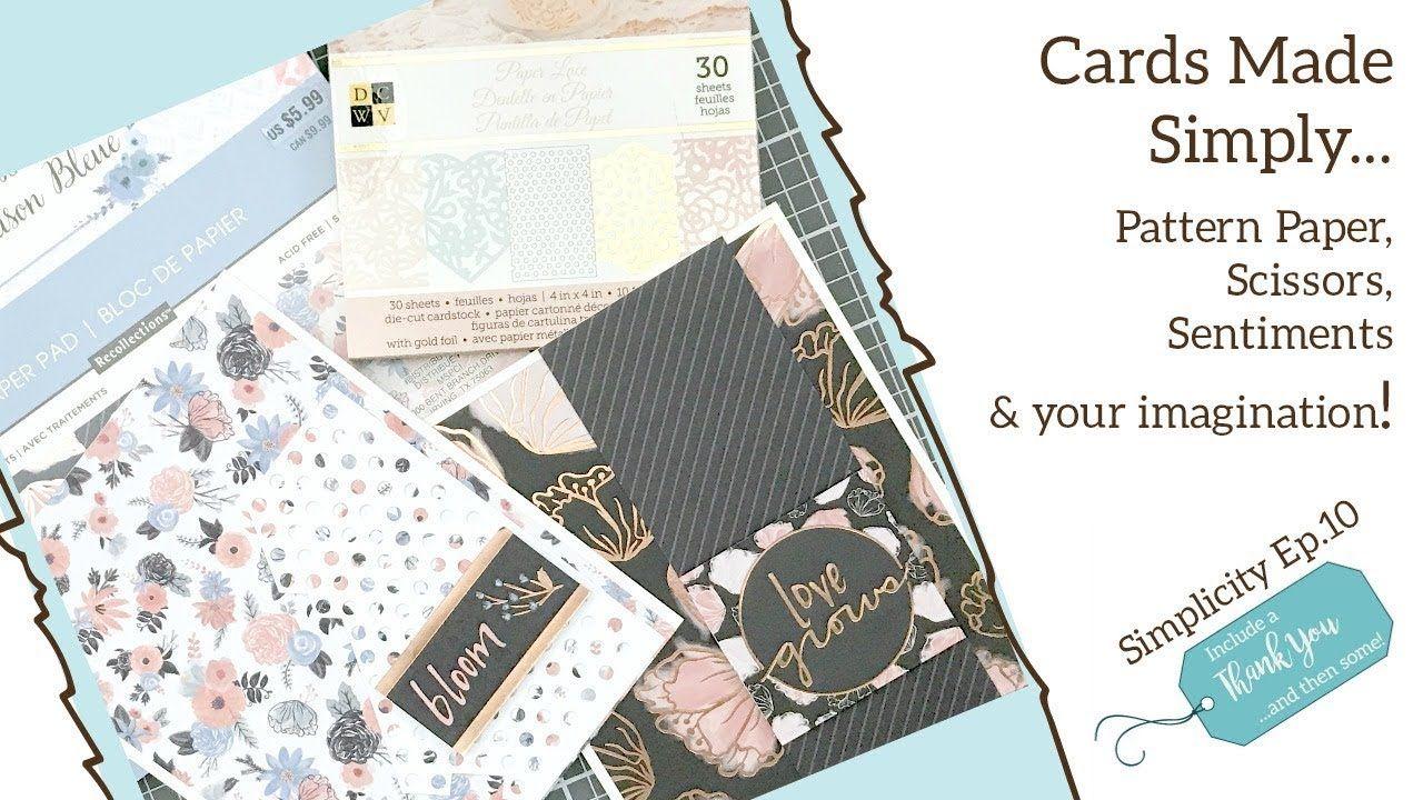 Pin On Cards One Sheet Wonder