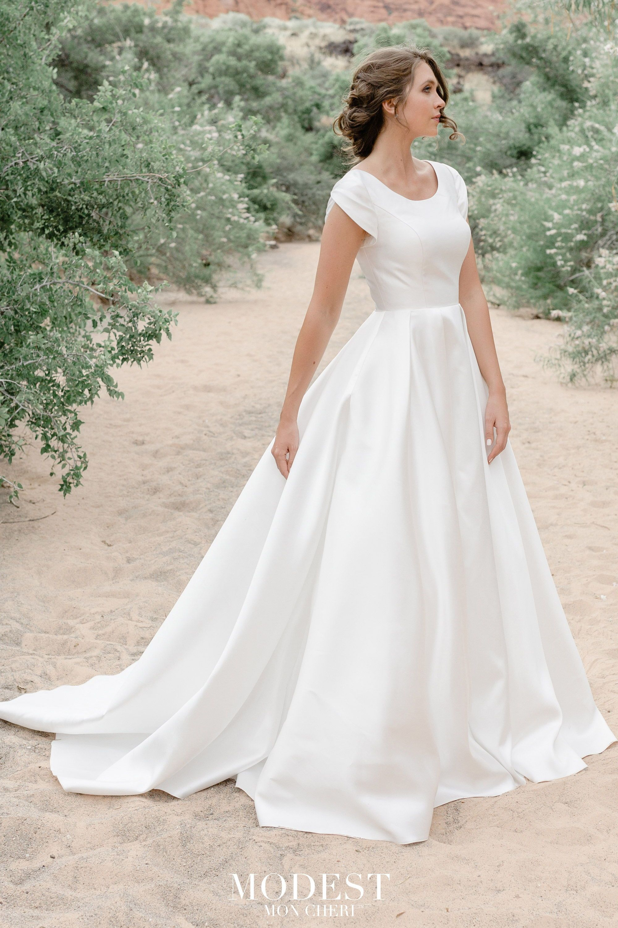 MODEST BY MON CHERI SPRING 2020 COLLECTION AT CELEBRATE