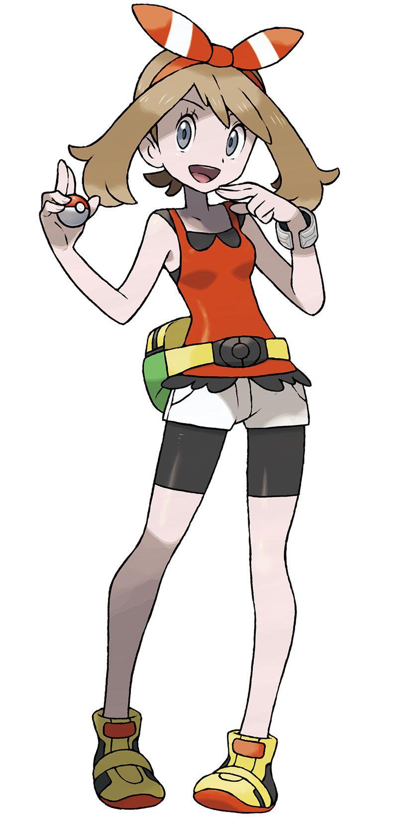 Pokemon Female Trainer Ruby