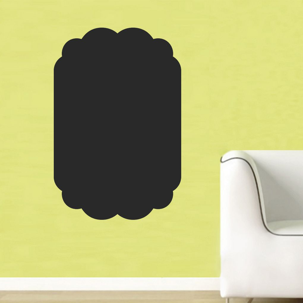 Chalkboard Square Wall Decal   Chalkboards, Wall decals and Dry ...