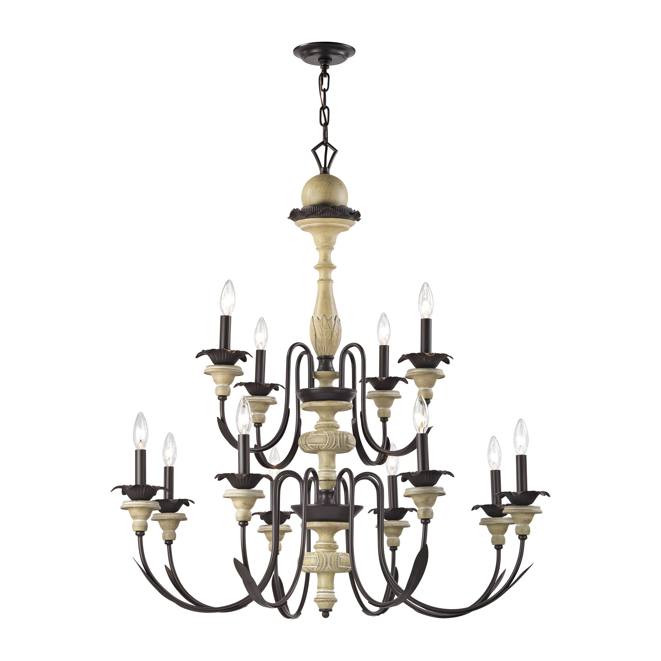 2 light chandelier in aged cream oil rubbed bronze dynamichome 2 light chandelier in aged cream oil rubbed bronze dynamichome chandelier lighting mozeypictures Images