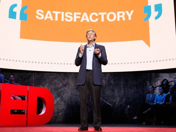 Video 10'24 (English) - Bill Gates on the importance of Teachers Training - http://www.ted.com/talks/bill_gates_teachers_need_real_feedback