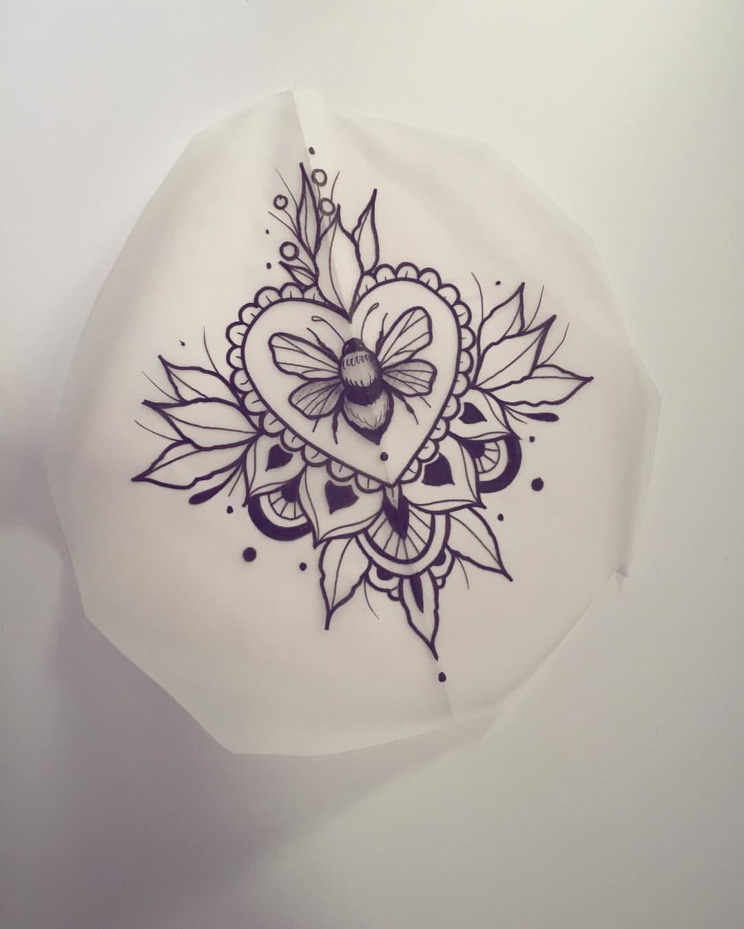 Paw Print In The Middle Tattoos Pinterest Tatuajes Ideas De