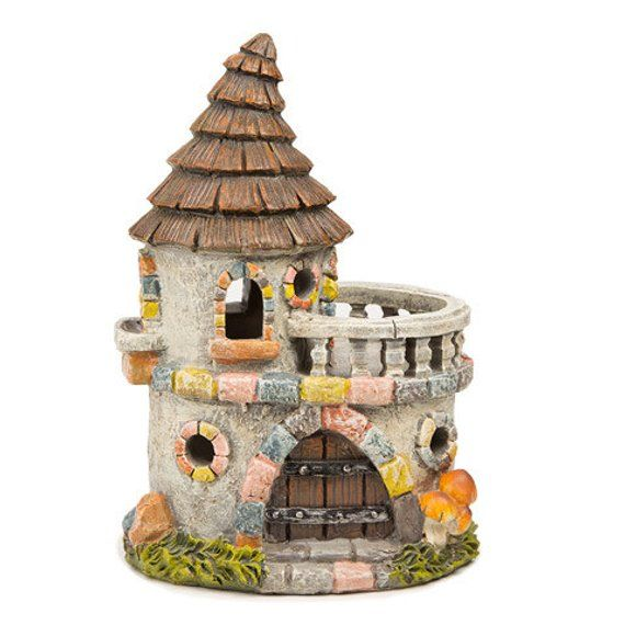 Fairy garden, fairy castle, fairy tale castle, miniature castle, miniature garden, small castle, fairy garden castle is part of Fairy garden Castle - DreamFairyGardens ref sellerplatformmcnav