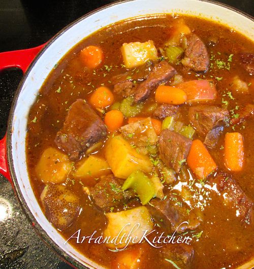This Irish Stew is my all time favorite stew recipe!