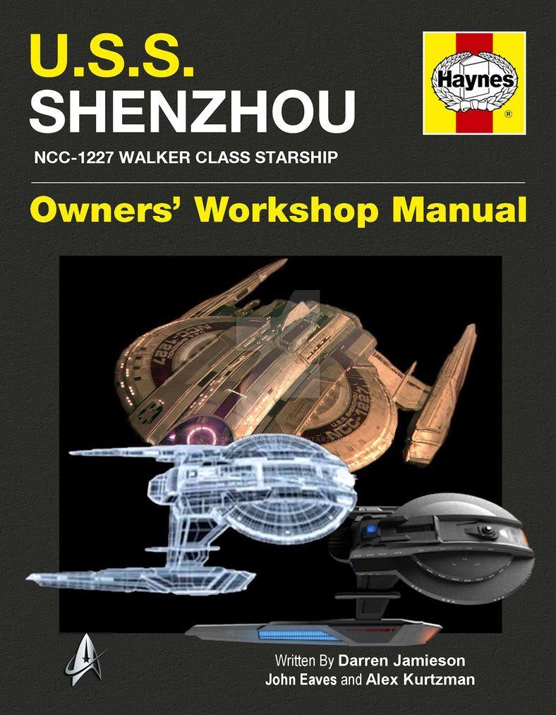 USS Shenzhou Star Trek Discovery by admiralreliant