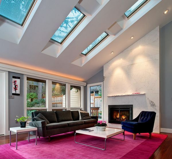 30 Inspirational Ideas For Living Rooms With Skylights Bright Living Room Popular Living Room Living Room Designs