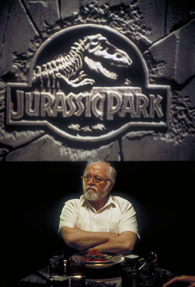 Richard Attenborough in Jurassic Park (1993) #jurassicparkworld