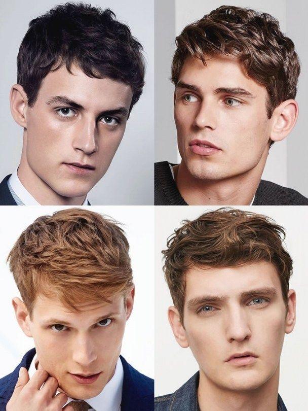 Frisuren Für Dreieckige Gesichter Männer In 2019 Frisur