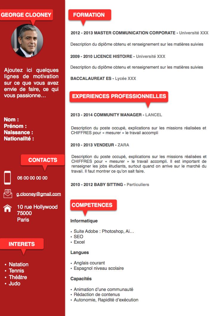 Modele Cv Original Assistante Commerciale Assistante Commerciale Cv Assistante Commerciale Modele Cv