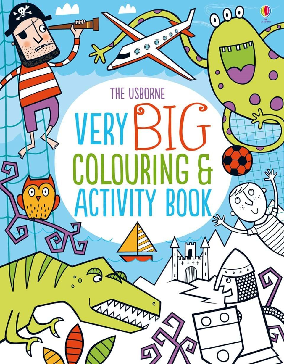 big colouring and activity book at usborne children s books | News ...