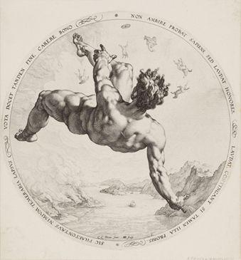 Goltzius Stadel Museum Francfort Zeichenvorlagen Kunstgeschichte Aktzeichnen