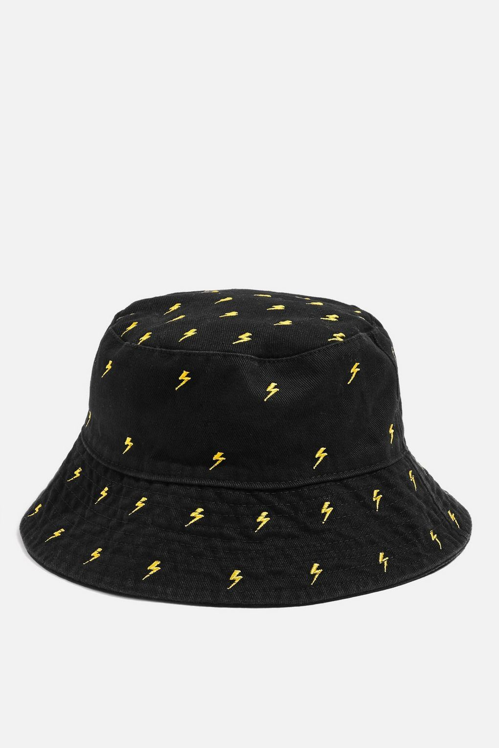 Embroidered Lightning Bucket Hat New In Fashion New In Topshop Europe Bucket Hat Fashion Cute Hats Bucket Hat