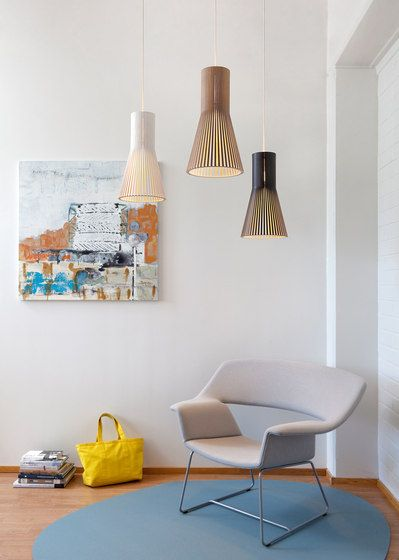 Secto 4201 by Secto Design | Wooden pendant lighting, Living