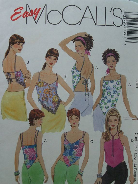 Sewing With Bandanas | McCall\'s 3128 Sewing Pattern - Misses Lined ...