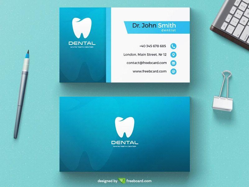 Zahnarzt Geschäfts Karten Bilder Auch Zahnarzt Visitenkarte