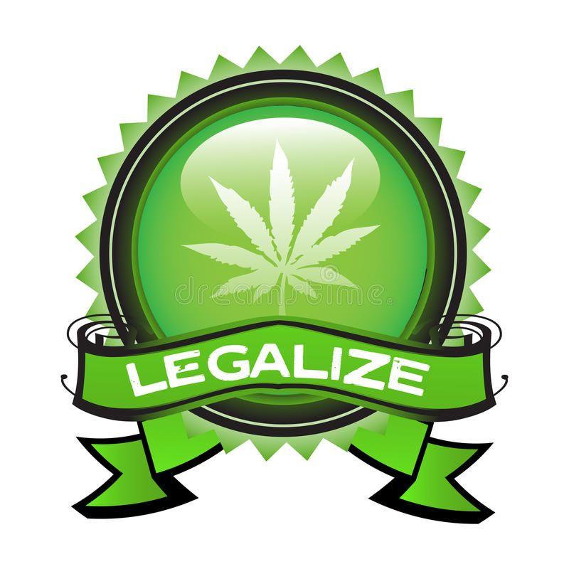 Download Legalize Marijuana Stock Vector Image Of Leaf Green