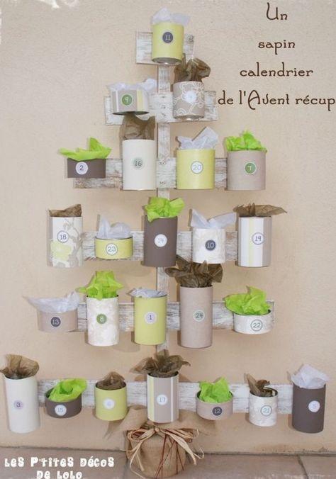 24 idées pour un calendrier de l'avent fait maison - Maman du Var #calendrierdelaventfaitmaison