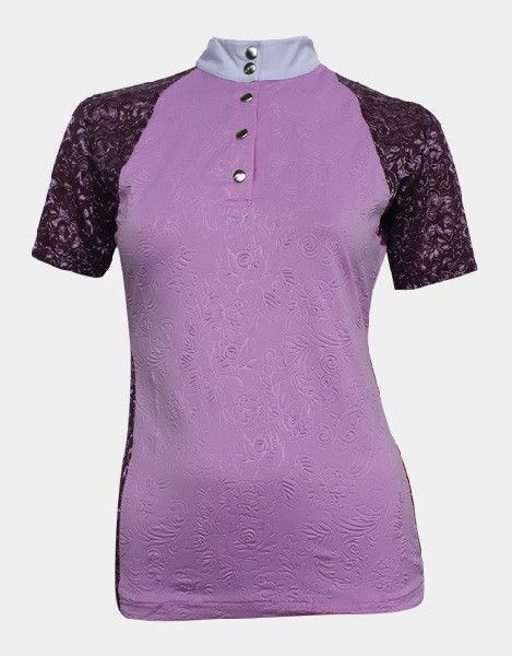 Michaela Shirt - Lilac I want a hippopotamus for Christmas (and