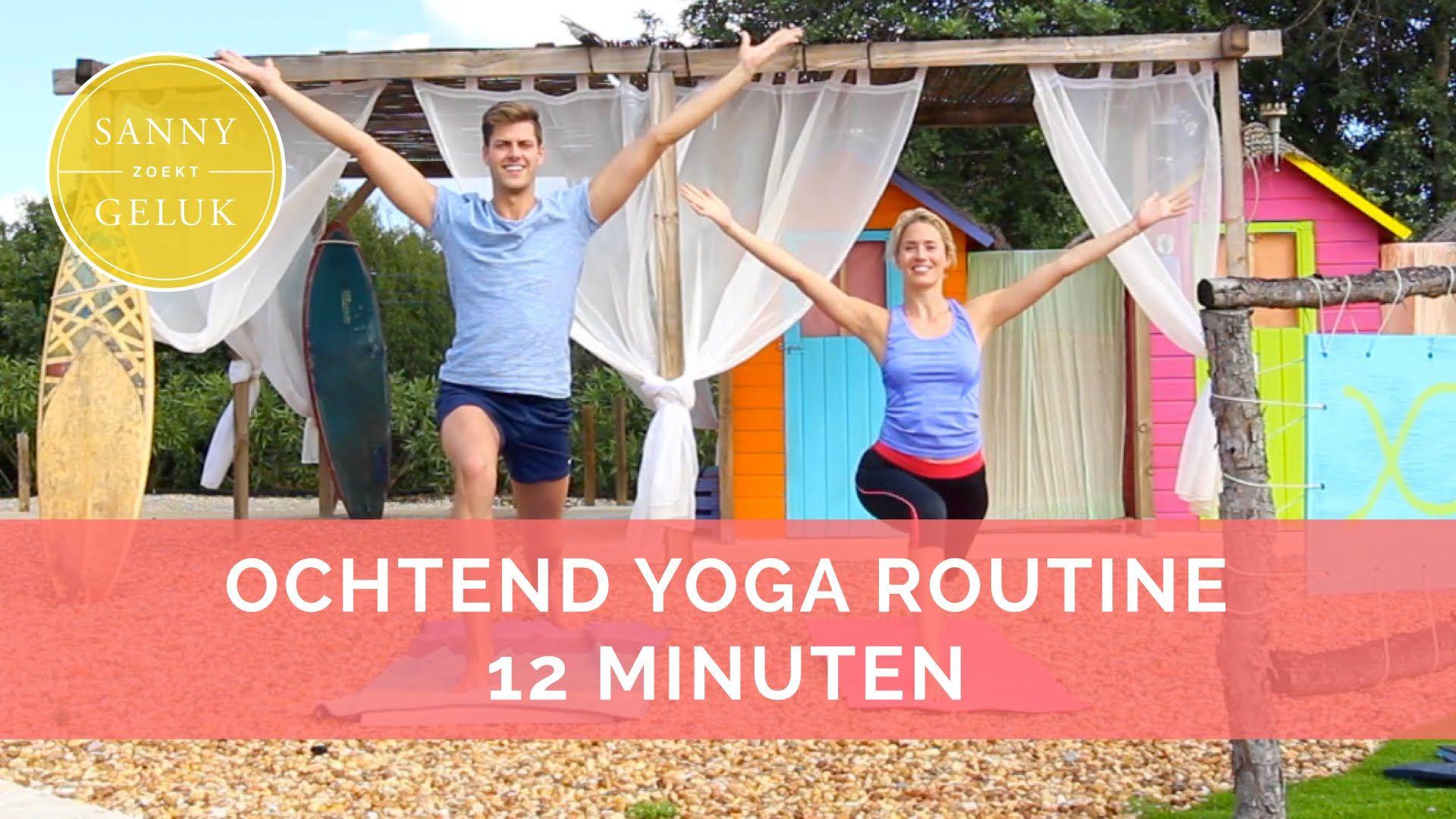 Yoga video voor energie in de ochtend. Ook voor beginners!