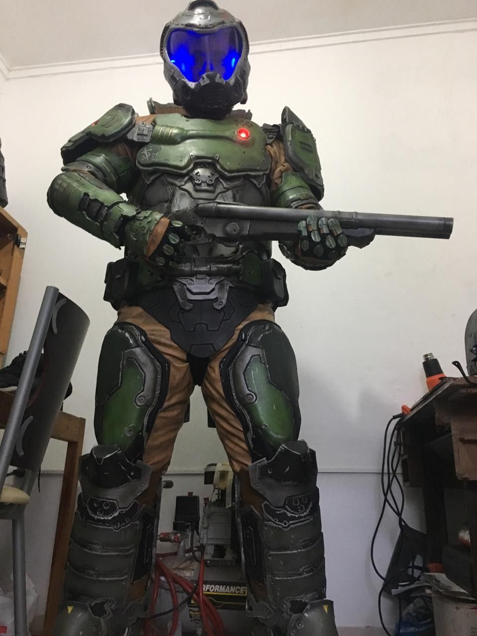 Pin By William Rusler On Doomguy Doom Slayer Cosplay