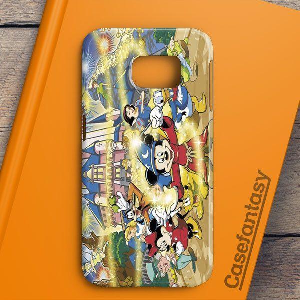 Disneyland Cartoon Samsung Galaxy S6 Edge Plus Case | casefantasy