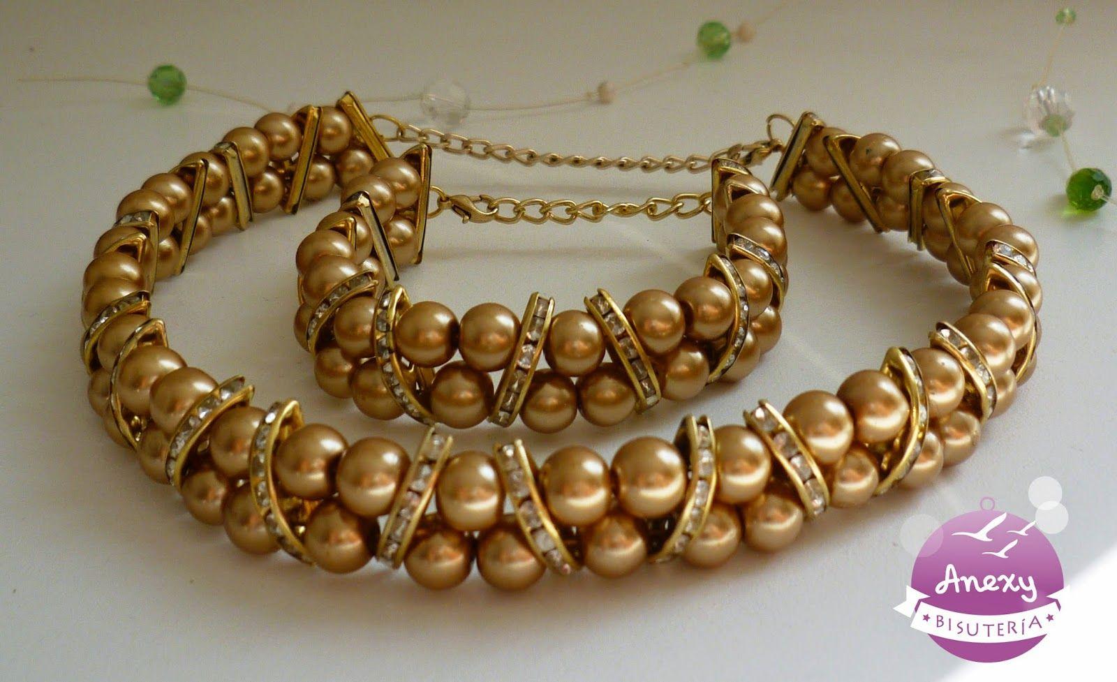 Gargantilla elegante de perlas