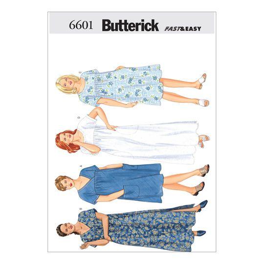 Butterick Pattern B6601 (16W-18W-20W)