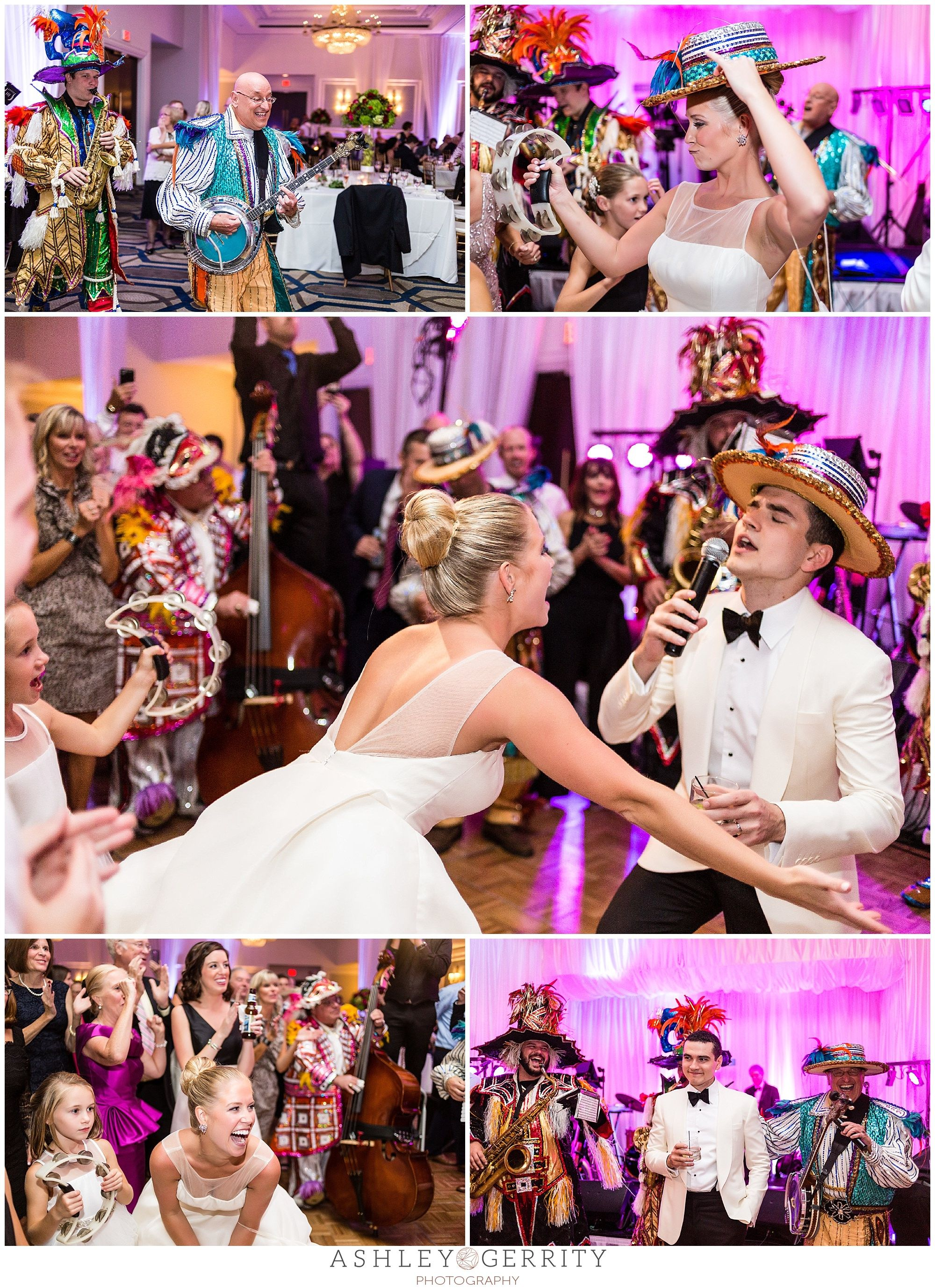 Mummers Are A Philadelphia Wedding Reception Surprise Agp
