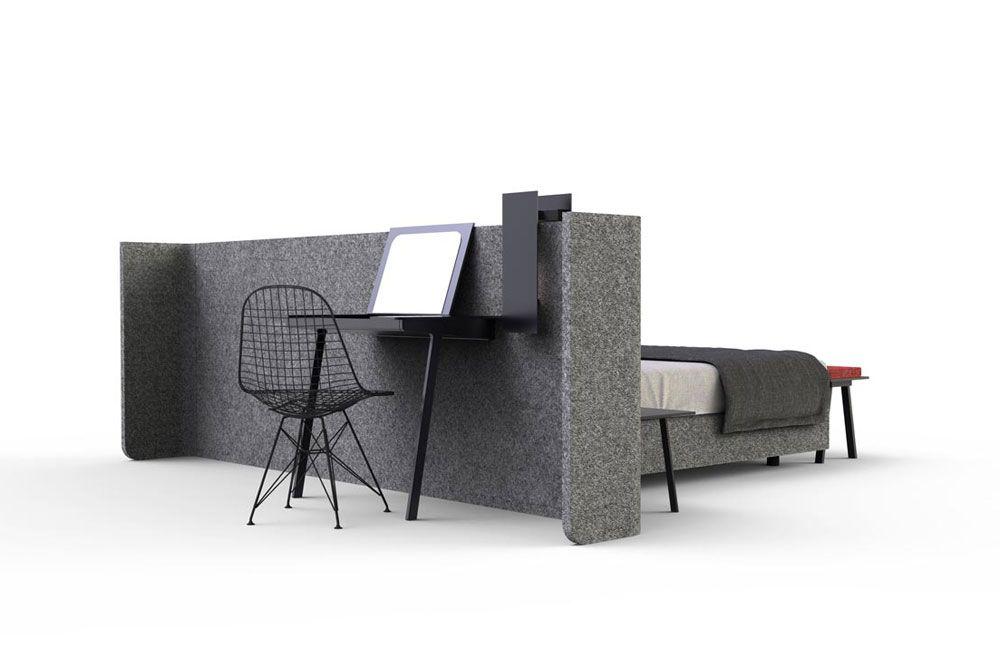Voici comment créer un coin nuit séparé dans un studio avec un VRAI