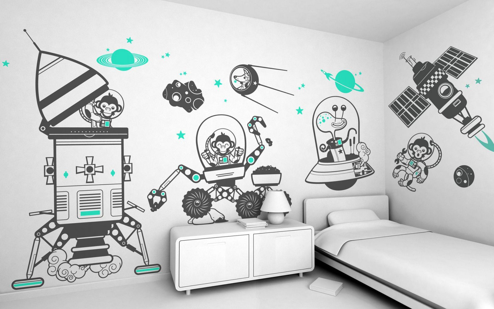 55  Decals for Boys Rooms - Bedroom Wall Art Ideas Check more at ... for Wall Art Ideas For Bedroom Boys  103wja