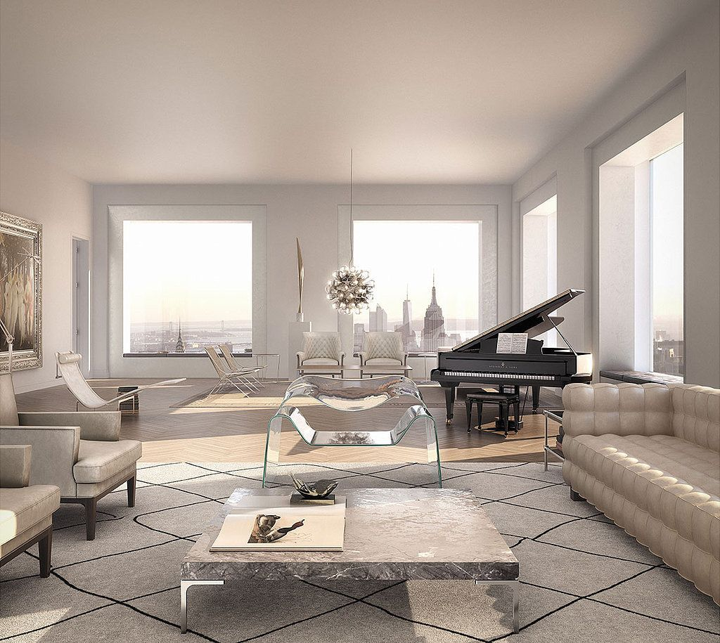 The $95 Million Penthouse You Thought Only Existed In Your Dreams.  Manhattan PenthousePenthouse SuiteLuxury ...