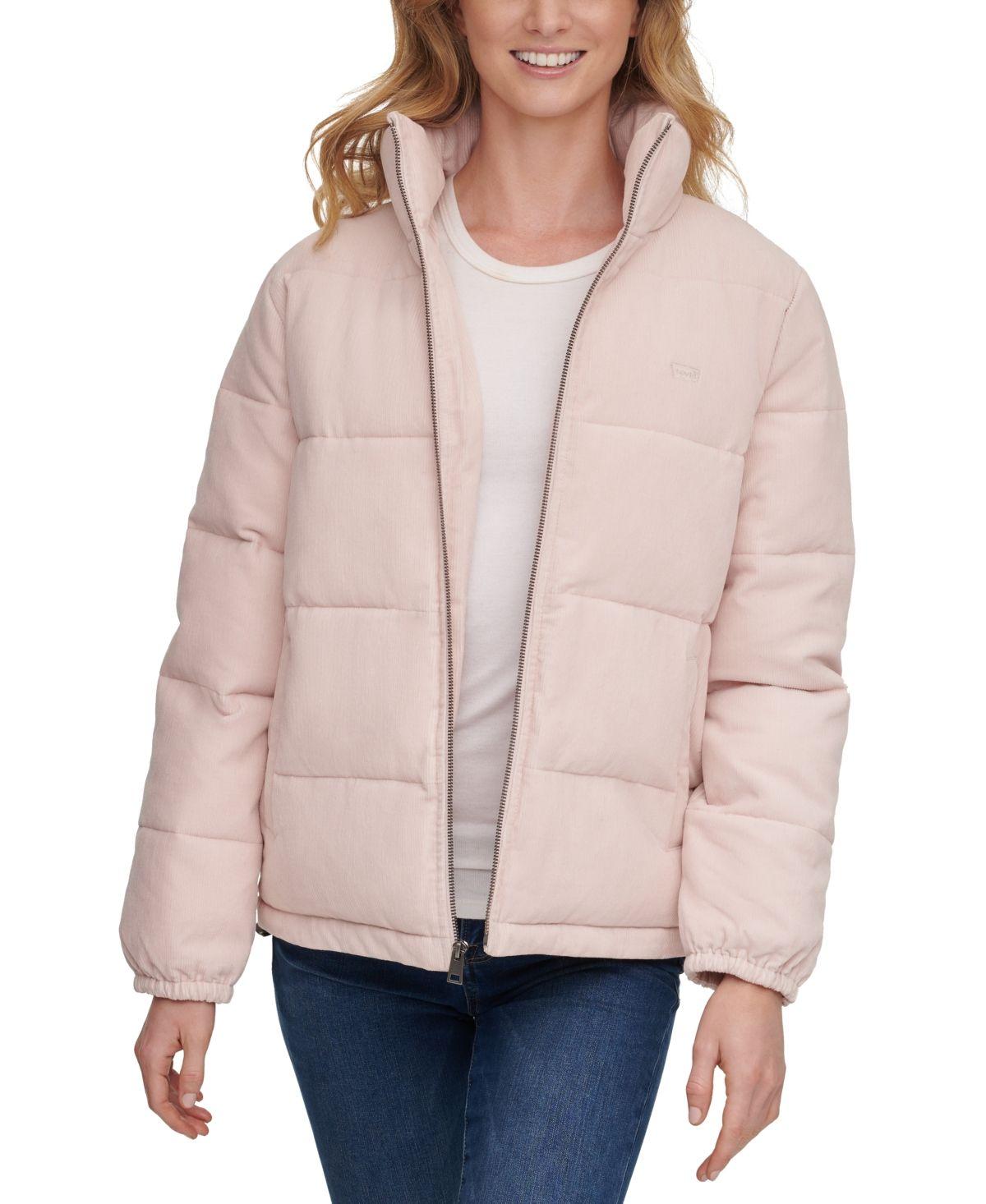 Levi S Women S Corduroy Puffer Jacket Baby Pink Corduroy Puffer Jacket Jackets Dream Clothes [ 1466 x 1200 Pixel ]