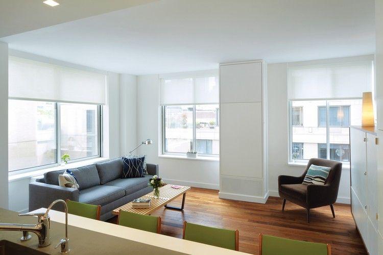Klapptisch Wohnzimmer ~ Wohnzimmer mit einem in der wand versteckten klapptisch diy und