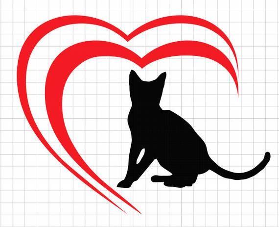 Download Pets svg, cat love, dog love, infinity love svg, svg heart ...