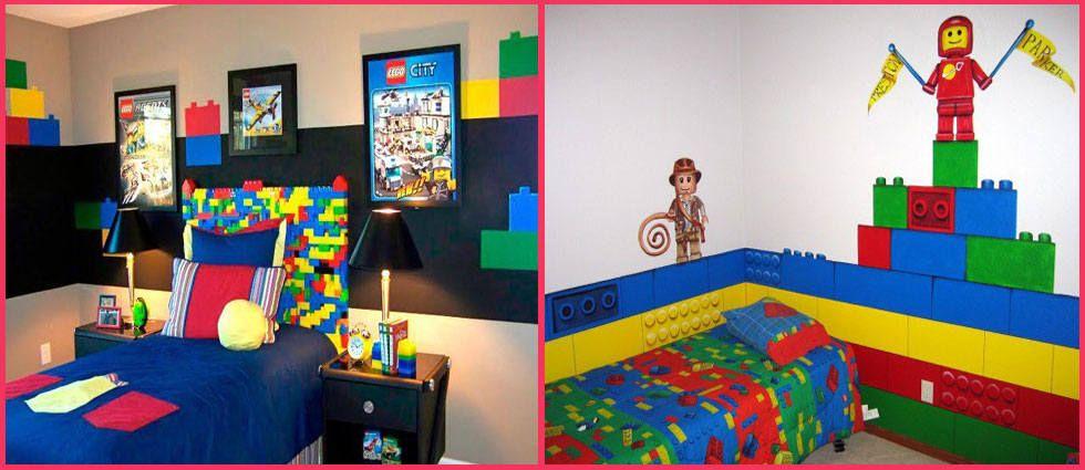 Decoraci n con piezas lego legos infinito y blog for Decoracion de piezas