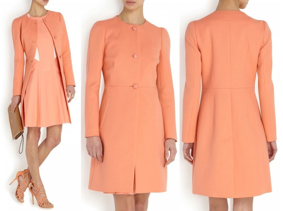 ed95e23550 Kate s coat is by Tara Jarmon. It is was available at Harvey Nichols for  £380