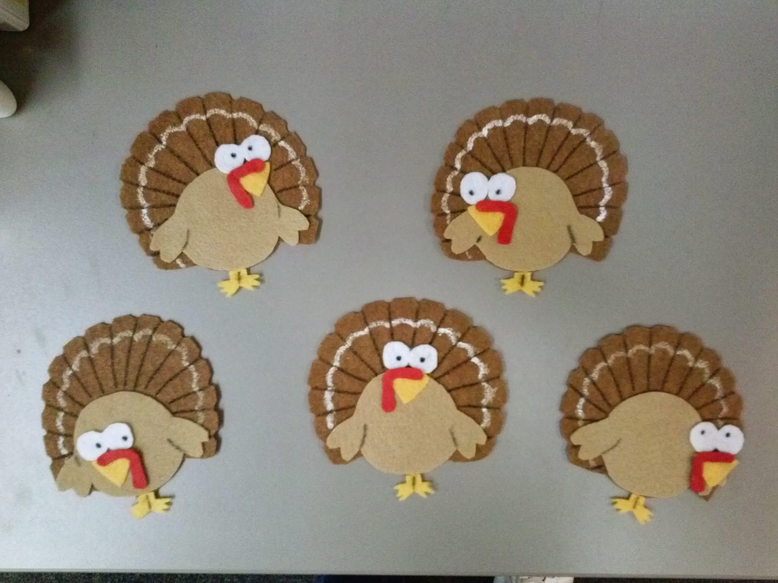 Five Turkeys