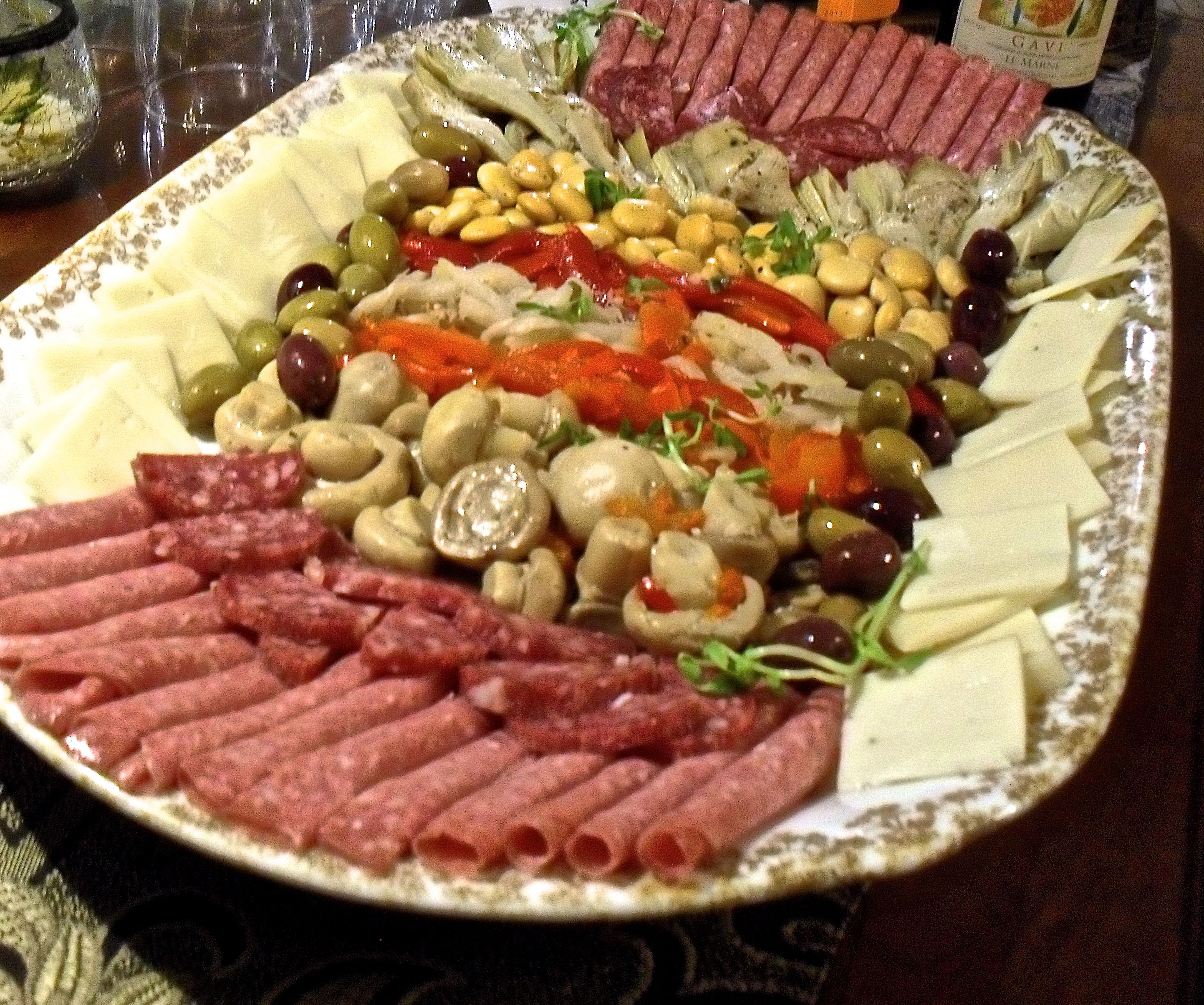Barefoot contessa antipasto platter let me entertain you Ina garten appetizer platter