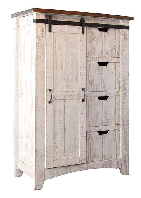 Puebla Rustic White Wash Chest Wood Bedroom Furniture Greenview Bedroom Storage