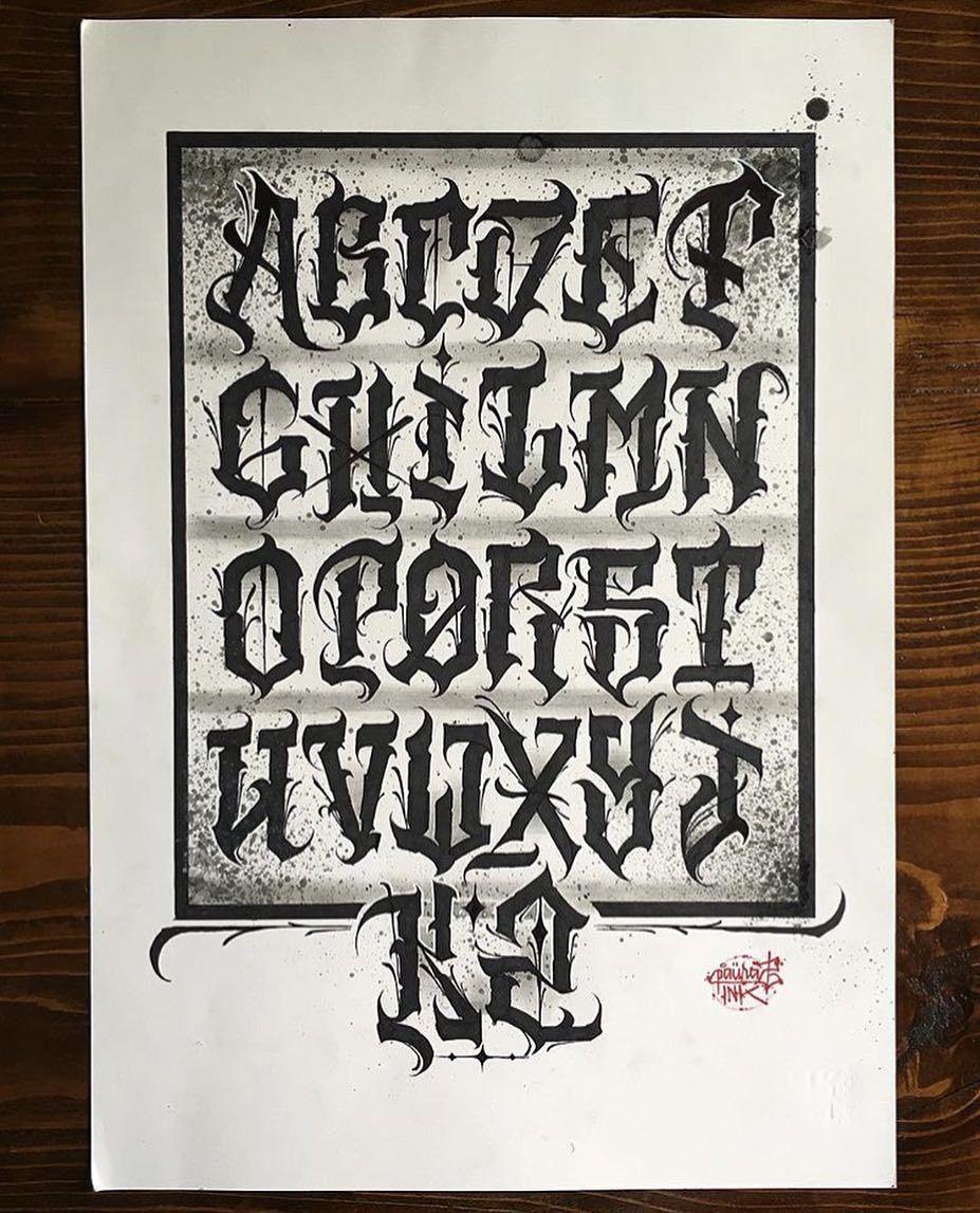 ", ⚜️LETRAS SANTAS COLLECTIVE⚜️ on Instagram: ""@tipethz_paurazink  #tattoo #tattoos #ink #inked #inkedup #lettering #letteringtattoo #script #killa #letras #letters #caligraphy…"", My Tattoo Blog 2020, My Tattoo Blog 2020"