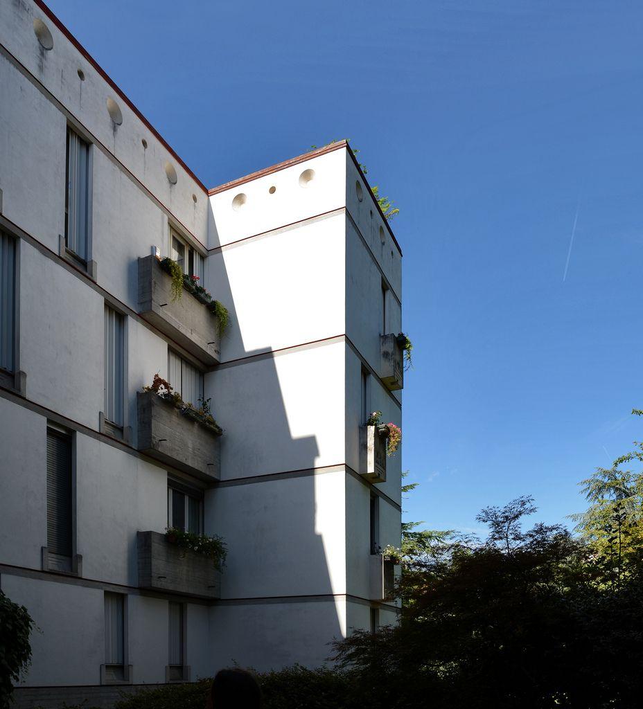 Carlo scarpa architect casa borgo contr del quartiere for Casa moderna vicenza