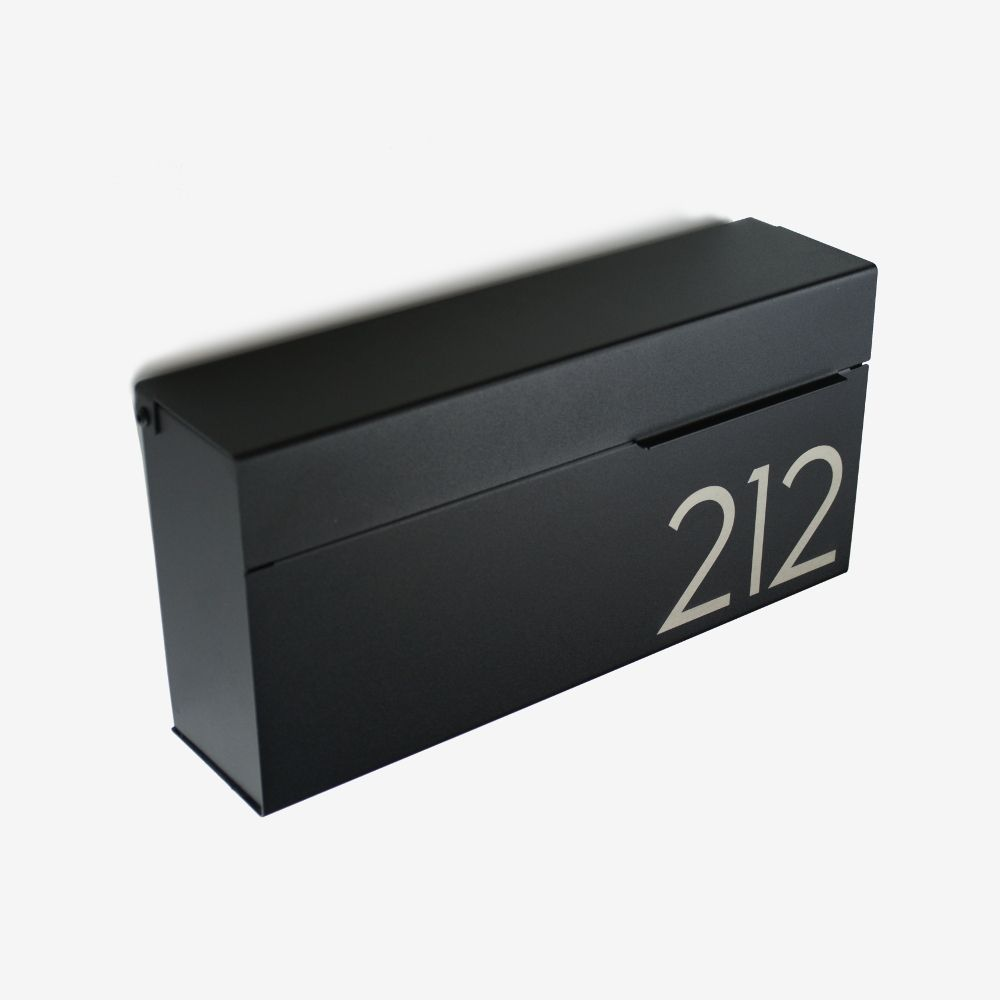 Louis Be Wall Mount Mailbox Engravable In 2020 Modern Mailbox Contemporary Mailboxes Mounted Mailbox