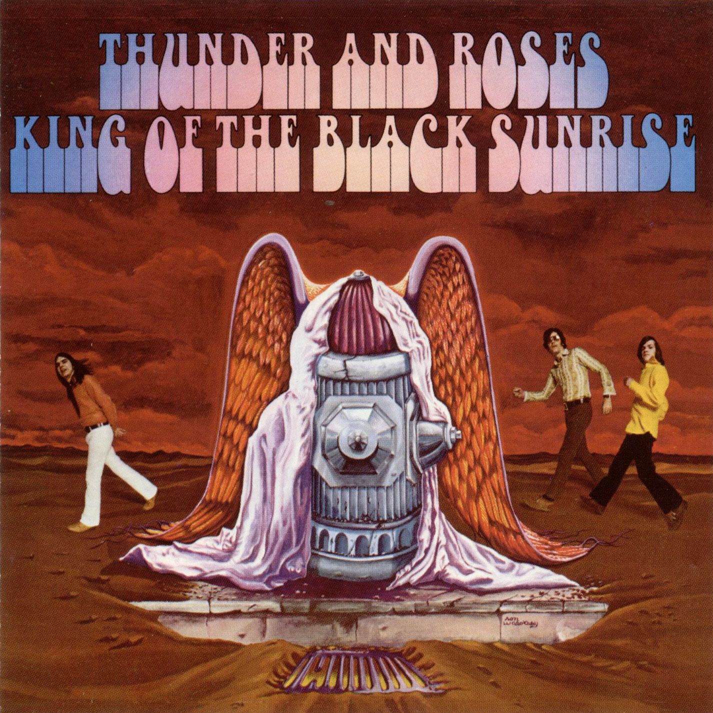 Thunder & Roses United artists, Vintage vinyl records