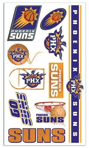 Phoenix Suns Temporary Tattoos Easily Removed With Household Rubbing Alcohol Or Baby Oil by CSY. $27.99. What a fun way to show your team spirit.. The tattoos are completely safe, non-toxic, hypo-allergenic, and all ingredients are FDA regulated . They last for days and can be easily removed with household rubbing alcohol or baby oil.. Each package includes one sheet of 10 tattoos.. Phoenix Suns Temporary Tattoos.. Made by WinCraft.. Save 61%!